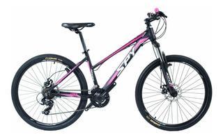 Bicicleta Mountain Bike Dama Spy Ridder Frenos A Disco