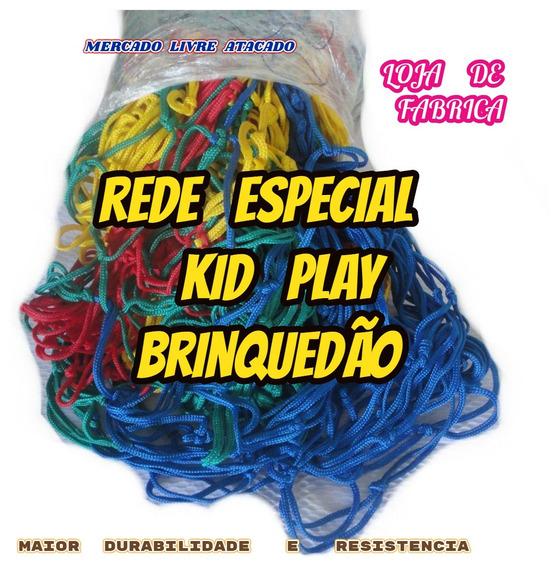 Rede Para Kid Play Quadra Piscina Brinquedão Metro² Fabrica.