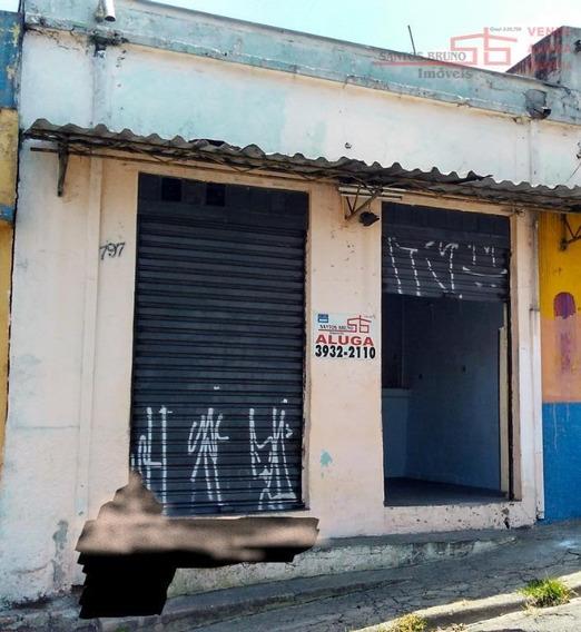 Salão Para Alugar Por R$ 750/mês - Vila Diva (zona Norte) - São Paulo/sp - Sl0035