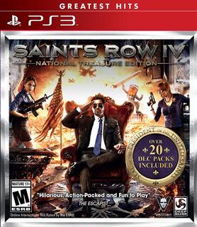 Saints Row Iv National Treasure Playstation 3