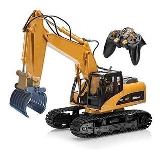 Top Race 15 Canales Teledirigido Rc Fork Excavator, !