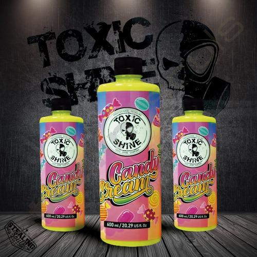 Imagen 1 de 7 de Toxic Shine   Candy Cream   Acondicionador Interior   600cc