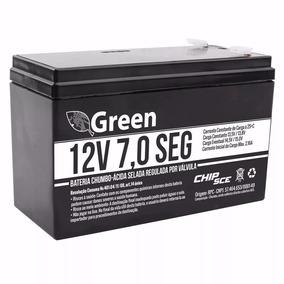 Bateria Selada 12v 07 Ah Green Frete Grátis