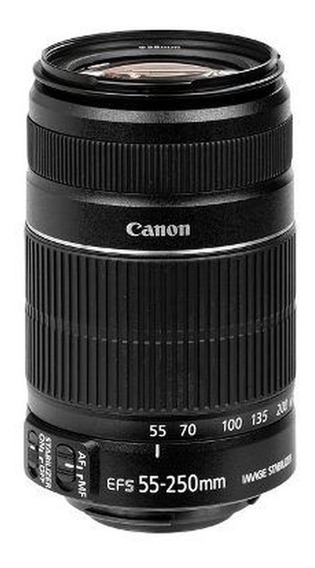 Canon Ef-s 55-250mm F/4-5.6 Is Stm Garantia /nf