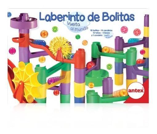 Laberinto De Bolitas Vuelta Al Mundo Juego De Mesa De Antex