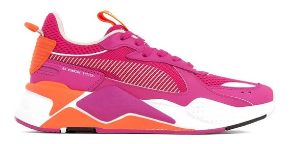 Tenis Puma Rs-x Toys Wns Rosa/naranja Mujer