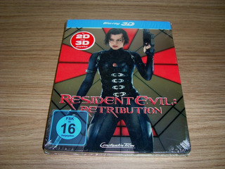Bd Resident Evil 5: Retribuição 3d Steelbook | Media Market