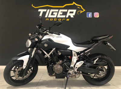 Yamaha Mt 07 Abs - 2016 - 4.000km Apenas-manual+chave Reserv