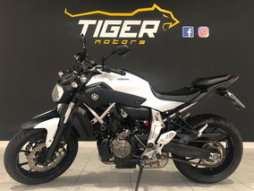 Yamaha Mt07 Abs - 2016 - 3.000km Apenas-manual+chave Reserva