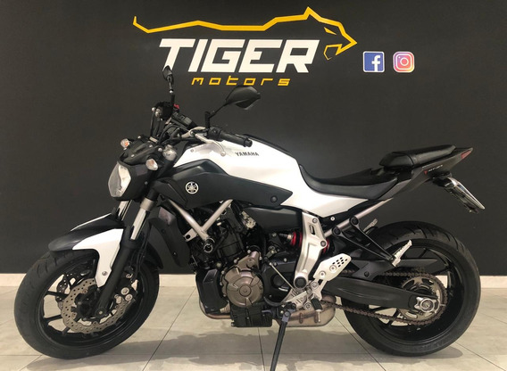 Yamaha Mt 07 Abs - 2016 - 3.000km Apenas-manual+chave Reserv