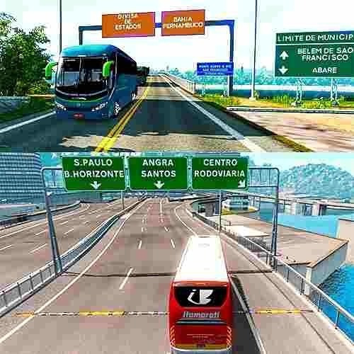 Mapa Brasileiro Para Euro Truck Simulator 2