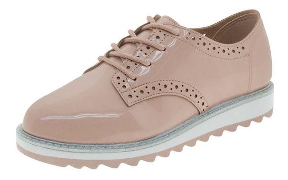 Sapato Infantil Feminino Oxford Rosa Molekinha - 2510418