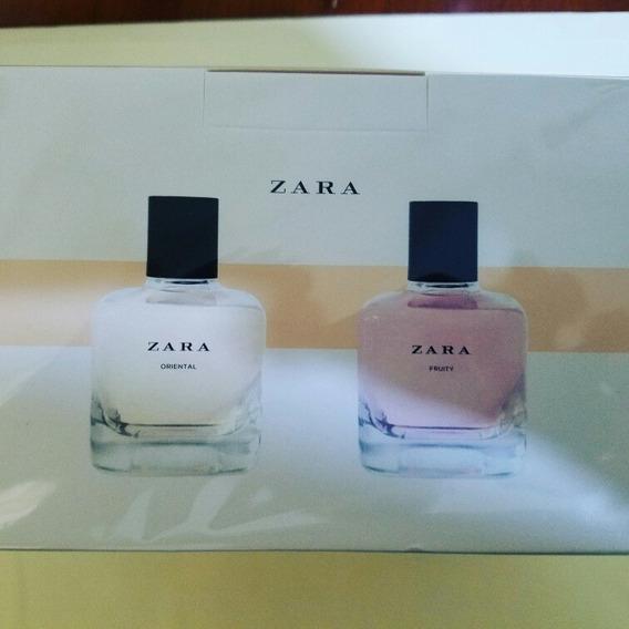 Perfume Zara En 2 X 1 100ml Fruit & Oriental
