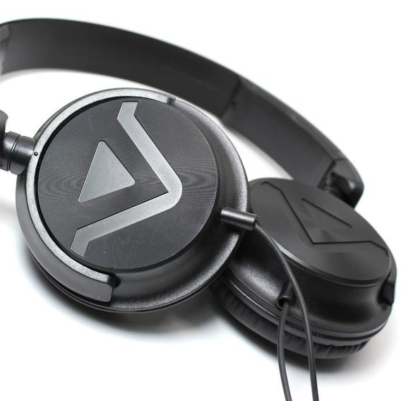 Fone Headphone Dj Evertech Evhp-20m/bb-i Preto Nfe Garantia