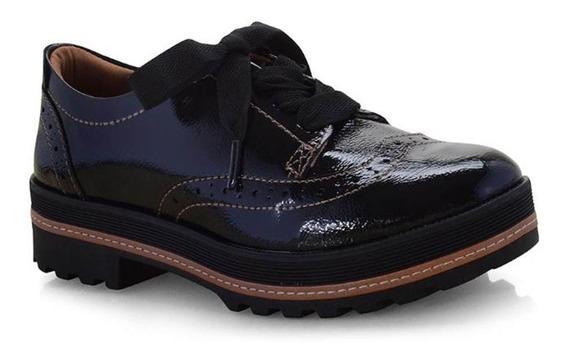 Sapato Oxford Feminino Dakota G1021 Preto Super Lançamento