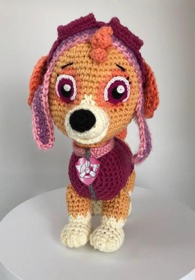 Paw Patrol Patrulla Canina Patron Amigurumis Crochet X 2 Ing