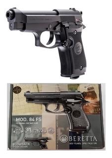 Pistola Pietro Beretta 84fs Co2 Gratis Full Metal 4.5mm