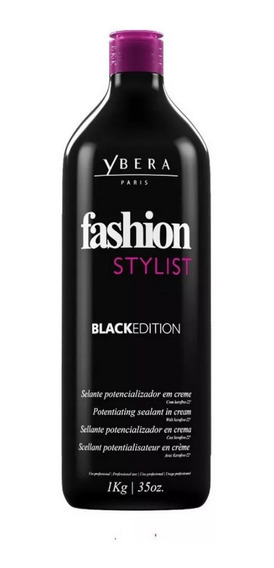 Ybera Fashion Creme Progressiva Black 1kg Alisa Sem Formol