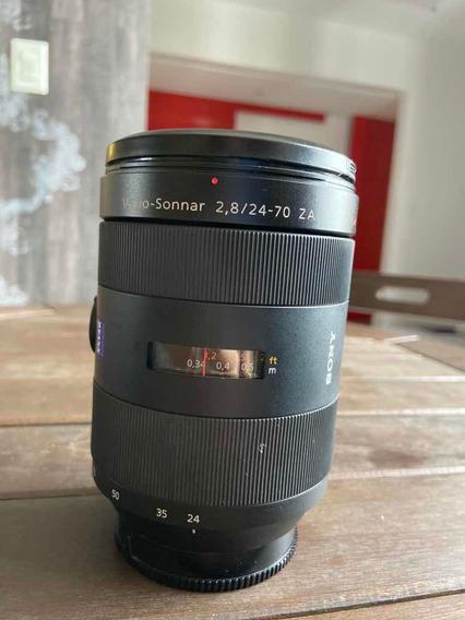 Lente Sony 24-70mm Carl Zeiss