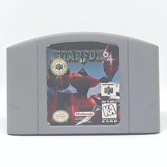 Starfox 64 Nintendo Oferta! Loja Física!