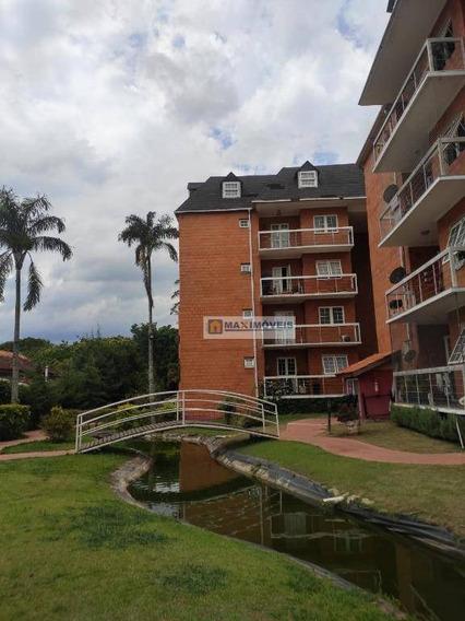 Apartamento Com 2 Dormitórios Para Alugar, 80 M² Por R$ 1.650/mês - Itapetininga - Atibaia/sp - Ap0073