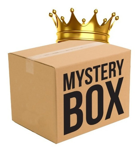 Imagen 1 de 3 de Misteriosa Caja De Sorpresa Tercer Nivel Oro