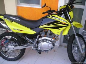 Honda Bros 150 Es Amarela