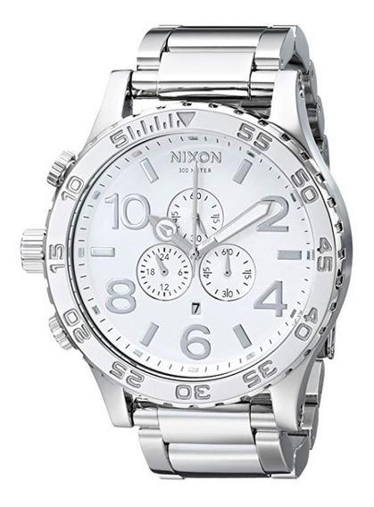 Relógio Nixon 51-30 High Polish White Original Eua Raríssimo