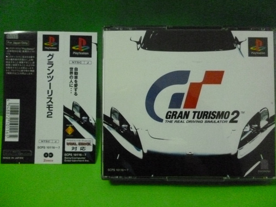 Ps1 Gran Turismo 2 Com Spine Card Sony Playstation One
