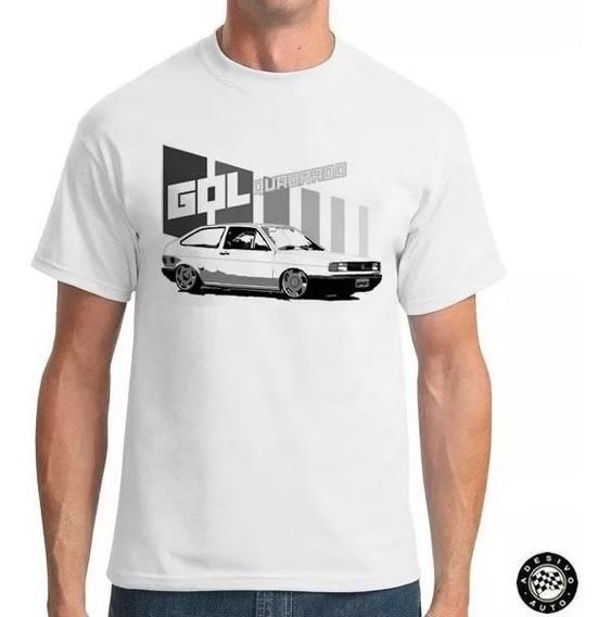 Camiseta Gol Quadrado Rebaixado Goleta Style + Adesivo