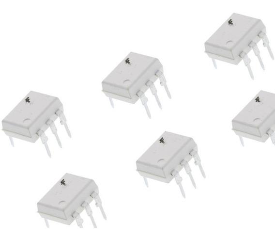 Moc 3021 Moc3021 Moc-3021 Optoacoplador X 6pcs Triac Emakers
