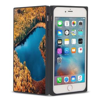 Caso Telefone Para Iphone 7/8 Lago Amar Água Quadrado