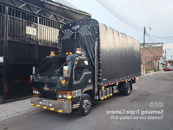 Chevrolet Turbo Npr Estacas Furgon Alargada Economica Public