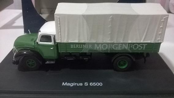 Miniatura 1/43 Schuco Caminhão Magirus S 6500