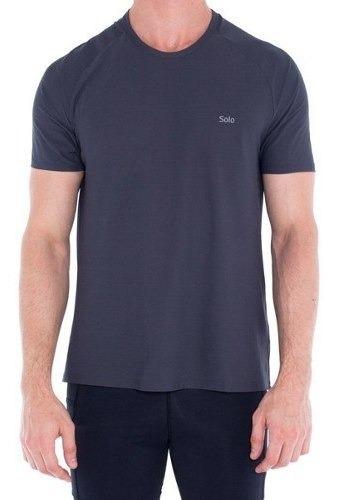 Camiseta Solo Masculina Com Proteção Upf 25+ Run Lite 25+