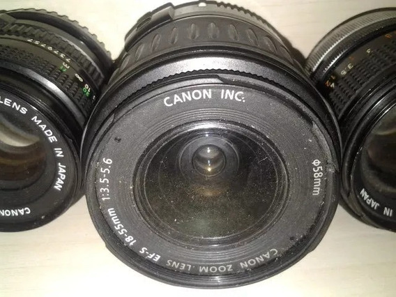 Lente Canon Antiga Zoom Ef-s 18-55