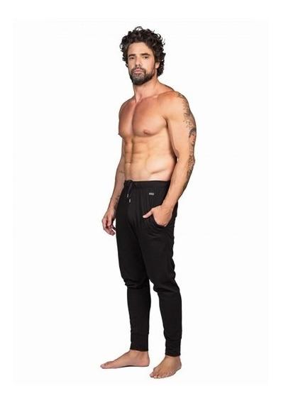 Pantalón Pijama Hombre Algodón Y Licra Dufour 11857