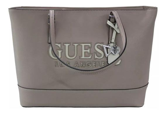 Bolsa Guess Chandler Rosa Claro Ee656125-bls Original Dama