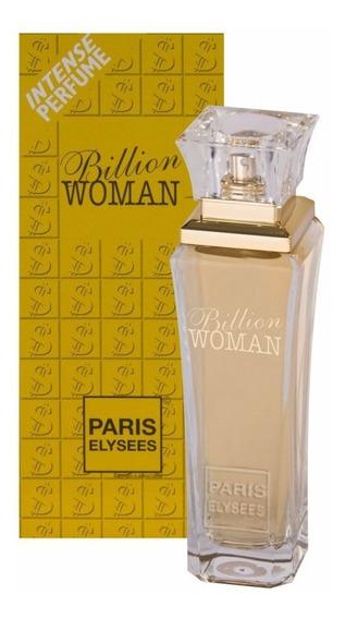 Perfume Billion Woman Feminino 100ml Paris Elysees