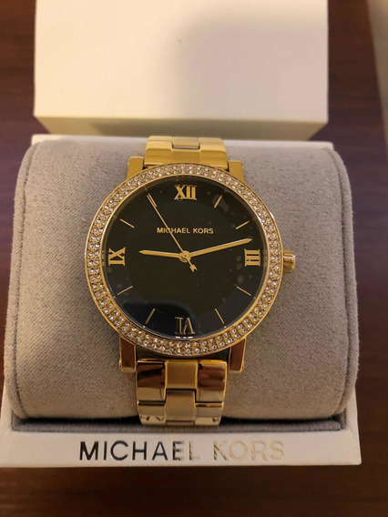 Relógio Michael Kors Gold Feminino Original Importado Mk4404