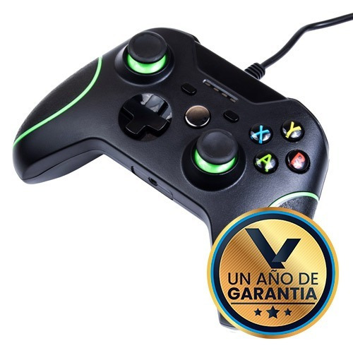 Imagen 1 de 4 de Control Alambrico Compatible Xbox One / Pc :: Virtual Zone
