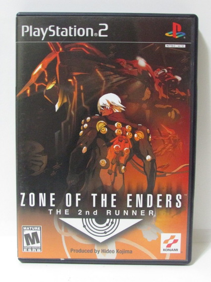 Zone Of The Enders The 2nd Runner - Play 2 Original Completo
