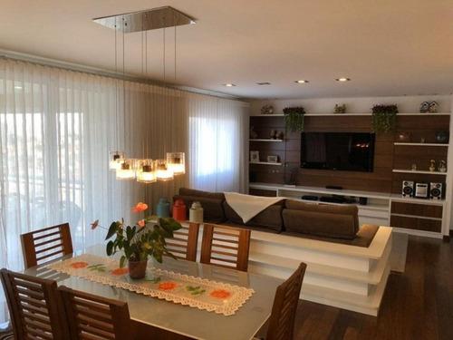 Apartamento Para Venda Com 3 Suítes, 186 M² - Santa Paula - São Caetano Do Sul/sp - Ap0519 - 67855320