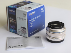 R$2199 Lente Olympus 17mm F 1.8 M4/3 Blackmagic Panasonic