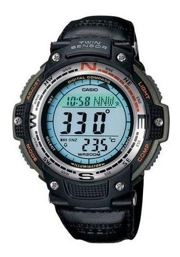 Casio - Hombres Brújula Digital Sensor Doble Del Reloj Del D