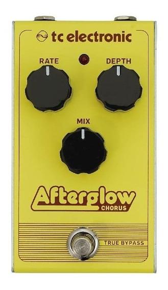 Pedal Guitarra Afterglow Chorus Tc Electronic True Bypass