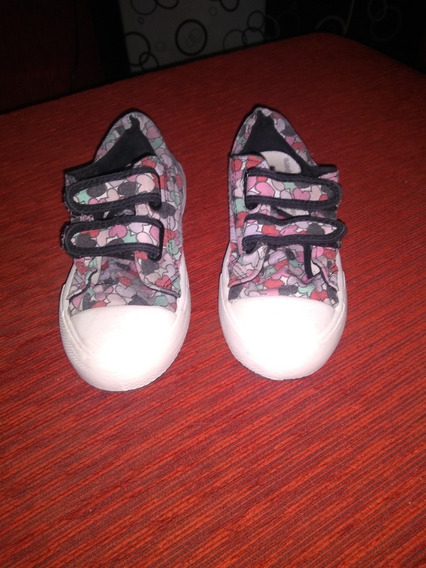 Zapatillas Pampero Flores Descuento 20% Infantil Nena