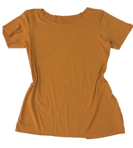 Blusinha T-shirt De Suede Lançamento
