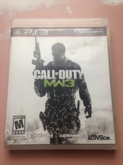 Call Of Duty Mw3 Modern Warfare Playstation 3 Midia Fisica