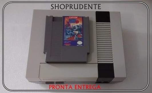 Mega Man 3 -nintenho-original Americano-